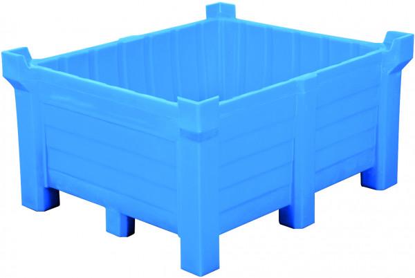 Stapelbehälter PE Blau geschlossen, 300 L, 800x600x1200, Polyethylen