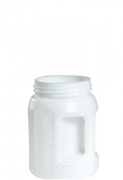 Öl-Kanne weiss aus HDPE, 2 Liter 165 x 220 mm, Polyethylen (high density)