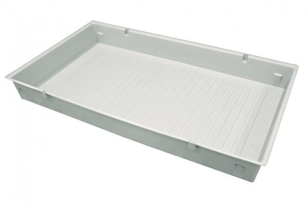 Einlegewanne für Auszugswanne (Volumen: 33,50 Liter) für Modell(e): Q90, S90 mit Breite 1200 mm, Polypropylen roh