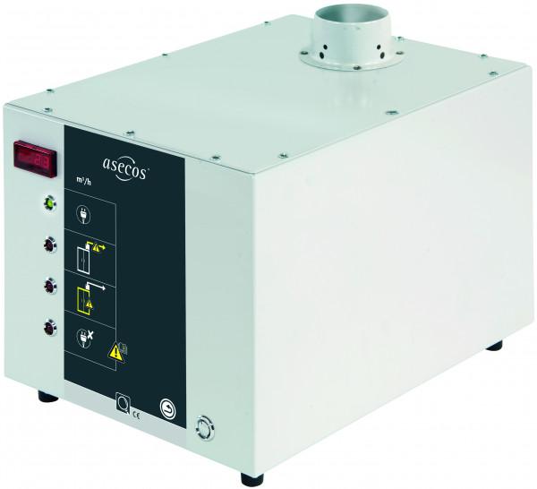 Modul zur Volumenstromüberwachung EXCLUSIVE-LINE Modell APG.26.30-EL, Stahlblech pulverbeschichtet glatt