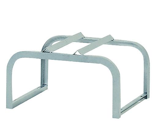 Fassbock für 1 Fass à¡ 200 L 600x600x380, Stahl verzinkt