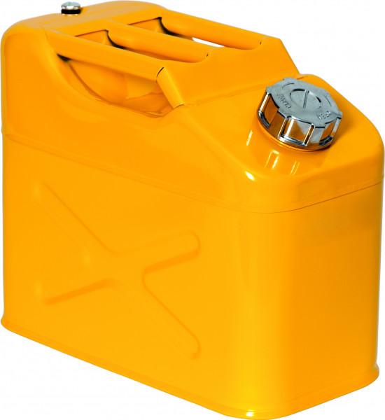 Lager-und Transportkanister UN-Zulassung Stahl lackiert 10 Liter, Stahlblech verzinkt und pulverbeschichtet