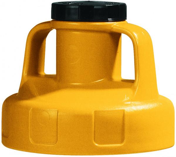 Allzweckdeckel HDPE, Gelb für Ölkanne, Polyethylen (high density)