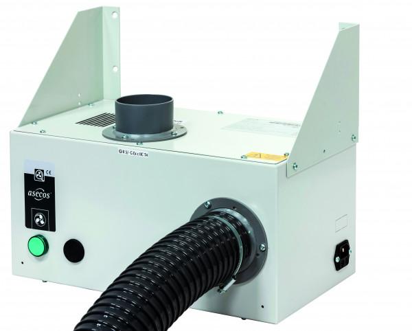 Entlüftungsmodul Modell HF.EA.11570. für Hochschränke ohne Abluftüberwachung, Stahlblech pulverbeschichtet glatt