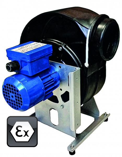 Ventilator Modell EP.VE.29427 für Gefahrstoffarbeitsplätze, Polypropylen