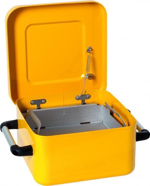 Tränk- und Spülbehälter Stahl lackiert 8 L, Stahlblech verzinkt und pulverbeschichtet