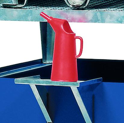 Kannenträger Stahl verzinkt für KTC Stationen Stahl, Stahl verzinkt
