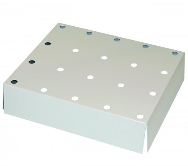 Lochblecheinsatz Standard für die Verwendung in STAWA-R-Auffangwannen für Modell(e): Q90, Q30, S90 mit Breite 600 mm, Stahlblech pulverbeschichtet glatt