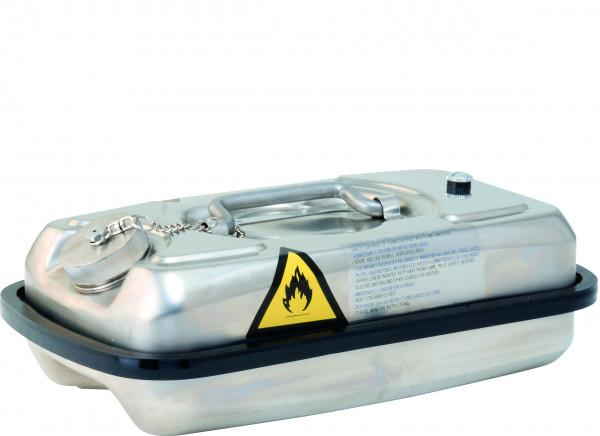 Transportkanister Edelstahl (1.4401) 5 L, Edelstahl 1.4301 poliert