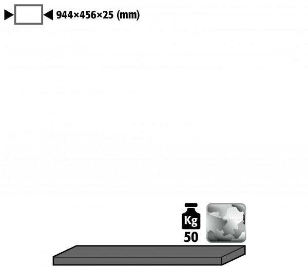 Fachboden Standard für Modell(e): EM mit Breite 950 mm, Stahlblech verzinkt