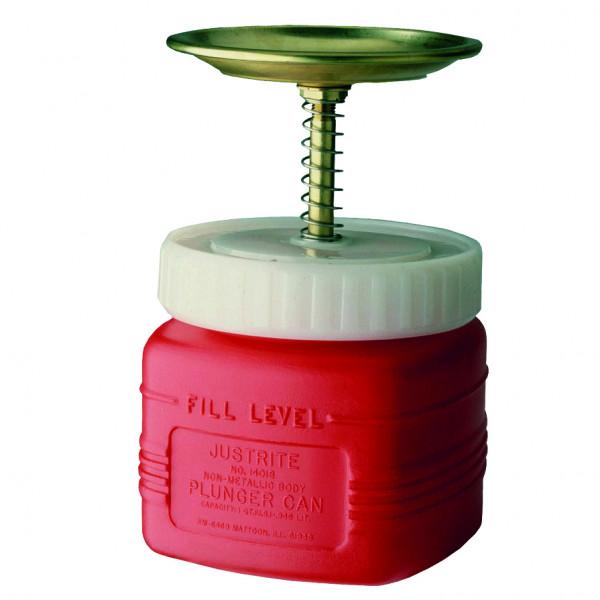 Sparanfeuchter Polyethylen rot 1 Liter, Polyethylen