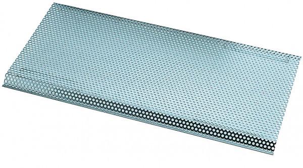 Siebboden Masse: (LxBxH)600x311x17 mm, Edelstahl 1.4301 poliert
