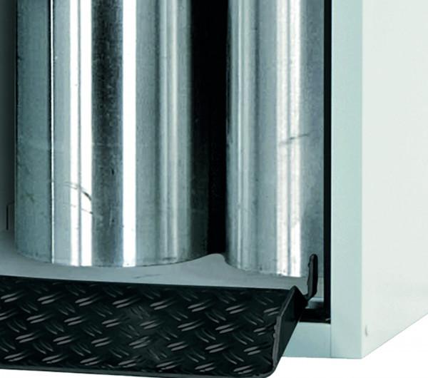 Einrollklappe für Modell(e): GOD mit Breite 1000 mm, Stahlblech lackiert