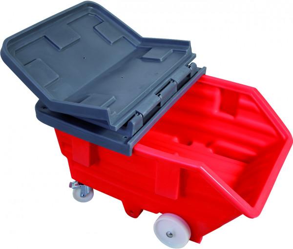 PE-Deckel 2-teilig, für Kippbehälter 750 L, Polyethylen