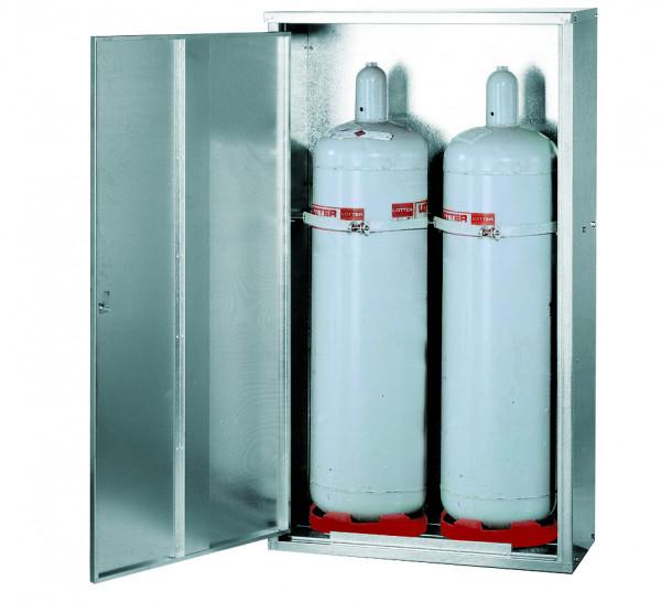 Flüssiggasflaschenschrank G-PG Modell GPG.150.084, WDL BxTxH(mm) 460x400x750, Stahlblech verzinkt