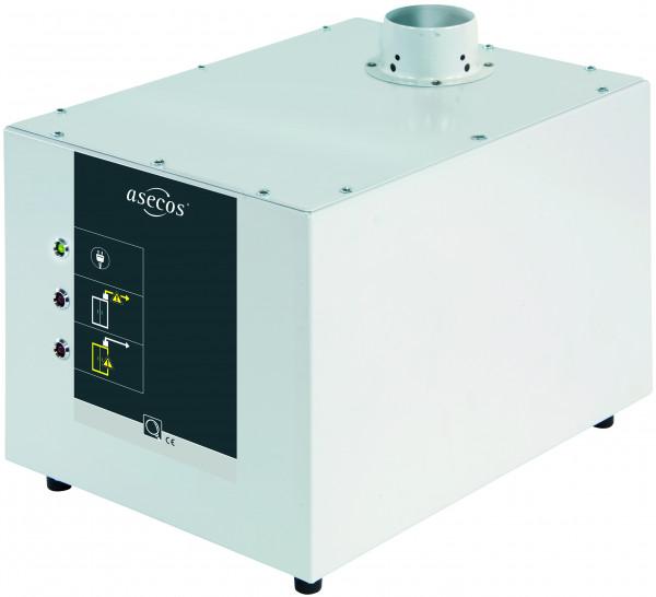 Modul zur Volumenstromüberwachung HIGH-LINE Modell APG.26.30-HL, Stahlblech pulverbeschichtet glatt