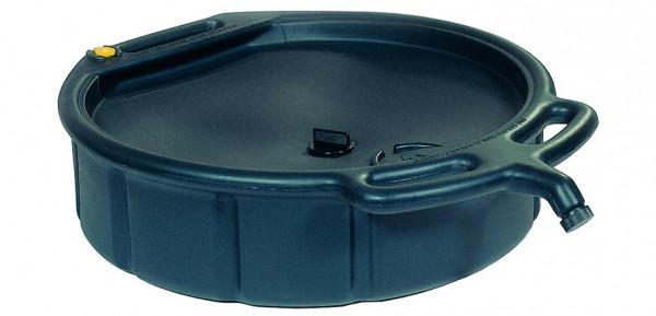 AltÖl- und Kühlflüssigkeitswanne PE Schwarz, 14 L, Polyethylen