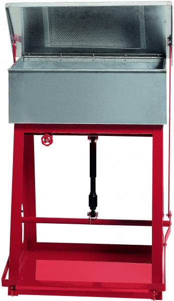 Reinigungsgerät Tauchtank, B x T x H (mm): 670 x 660 x 935, Stahlblech pulverbeschichtet glatt