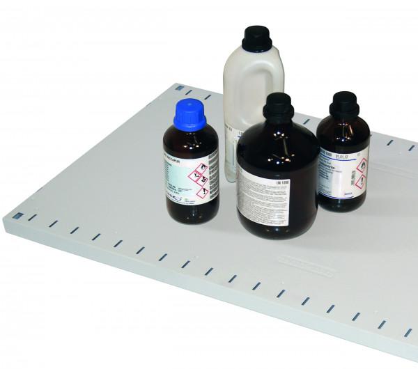Fachboden Standard für Modell(e): CS mit Breite 1055 mm, Stahlblech pulverbeschichtet glatt