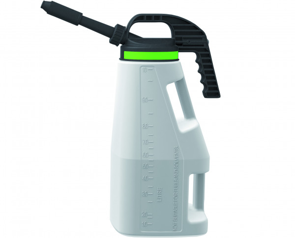 Abfüllkanne PE mit kurzem/langem Auslauf 10 L, Polyethylen