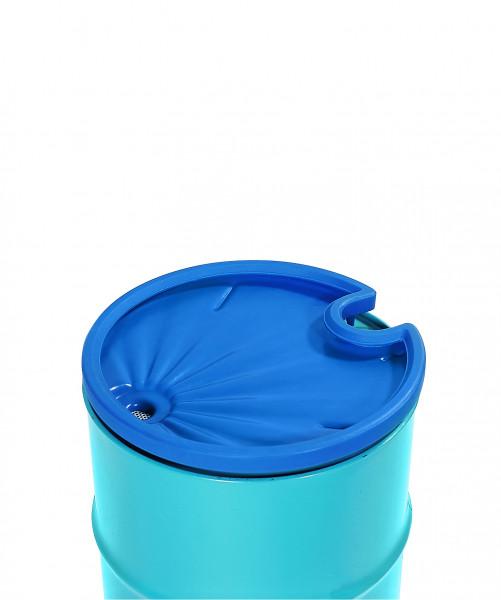 Einfülltrichter mit Sieb aus PE, Ø 580 mm, 200 L Fässer, 5 L vol., Polyethylen