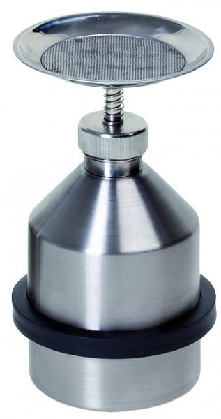Sparanfeuchter 1 L, aus Edelstahl, Edelstahl 1.4404 poliert