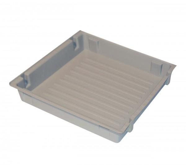 Einlegewanne für Auszugswanne (Volumen: 8,50 Liter) für Modell(e): S90, Q90, Q30 mit Breite 600 mm, Polypropylen roh