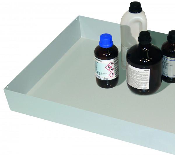 Wannenboden Standard (Volumen: 10,00 Liter) für Modell(e): S30 mit Breite 970 mm, Stahlblech pulverbeschichtet glatt