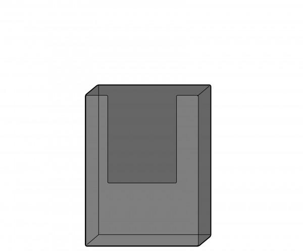 Dokumentenhalter DIN A5 für Modell(e): (alle Modelle), Polystyrol